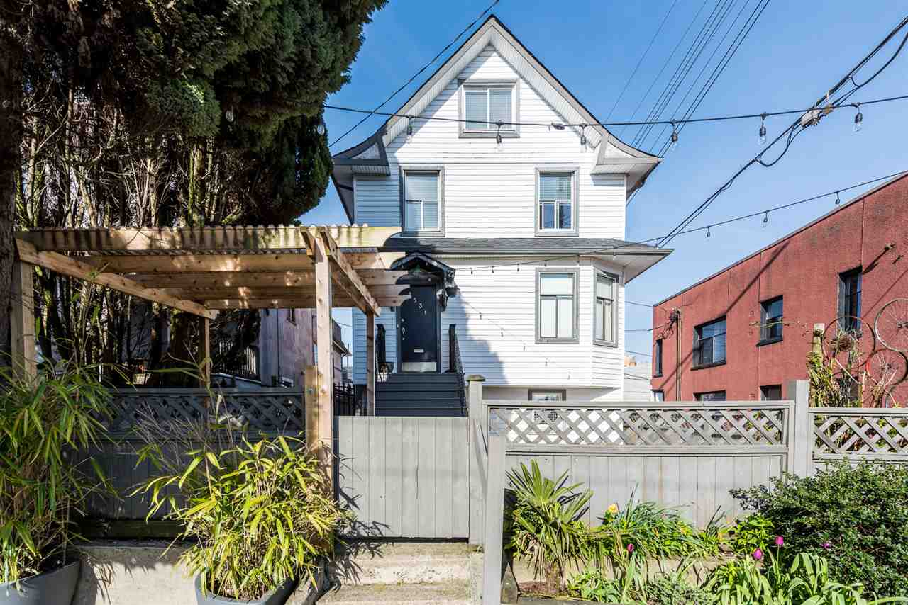 2531 FRASER STREET - Mount Pleasant VE House/Single Family for sale, 6 Bedrooms (R2562385) - #1