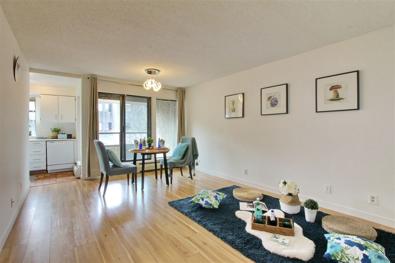 214 8451 WESTMINSTER HIGHWAY - Brighouse Apartment/Condo for sale, 1 Bedroom (R2562416)