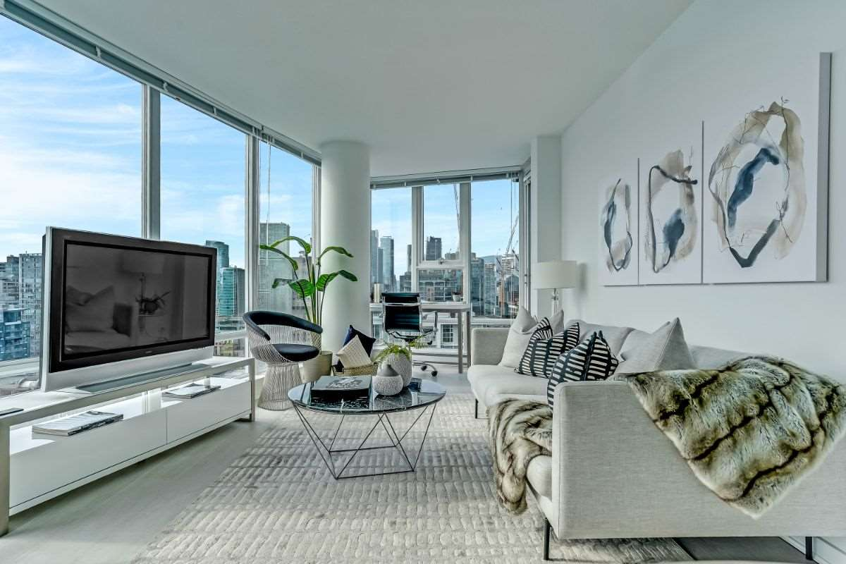 3003 111 W GEORGIA STREET - Downtown VW Apartment/Condo for sale, 2 Bedrooms (R2562425) - #1