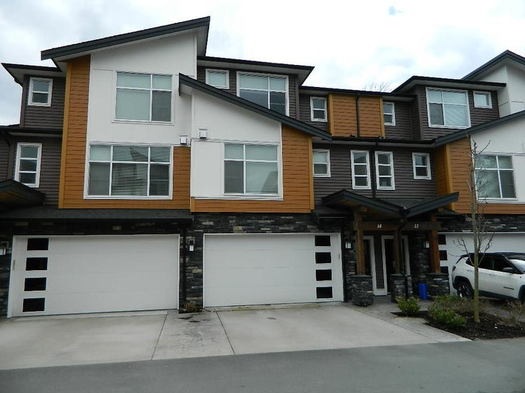 14 46570 MACKEN AVENUE - Chilliwack N Yale-Well Townhouse for sale, 3 Bedrooms (R2562429)