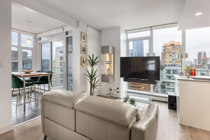 2002 1283 HOWE STREET - Downtown VW Apartment/Condo for sale, 1 Bedroom (R2562552)