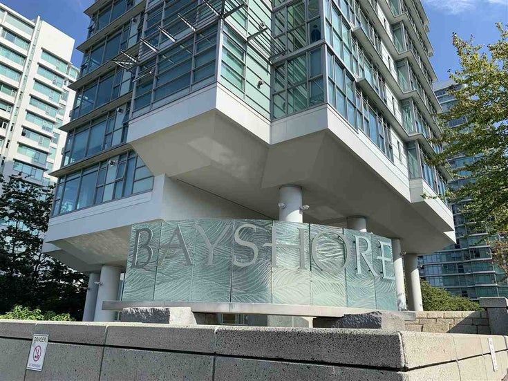 403 1790 BAYSHORE DRIVE - Coal Harbour Apartment/Condo for sale, 1 Bedroom (R2562587)
