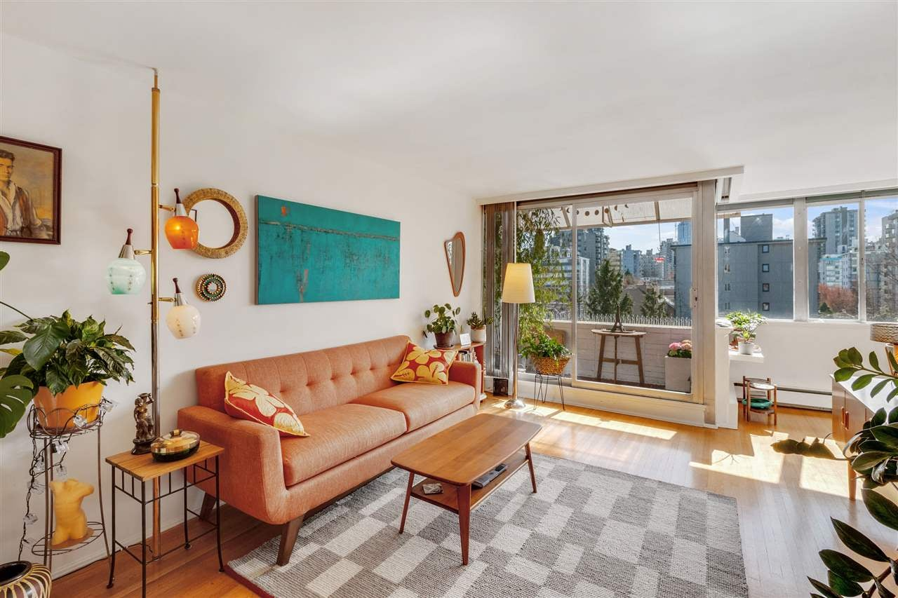 703 1315 CARDERO STREET - West End VW Apartment/Condo for sale, 1 Bedroom (R2562868) - #1