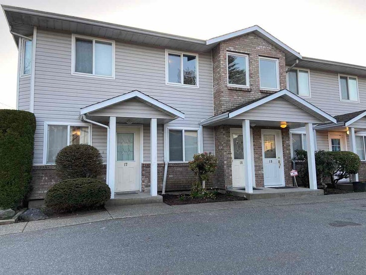 19 46735 YALE ROAD - Chilliwack E Young-Yale Townhouse for sale, 3 Bedrooms (R2562870)