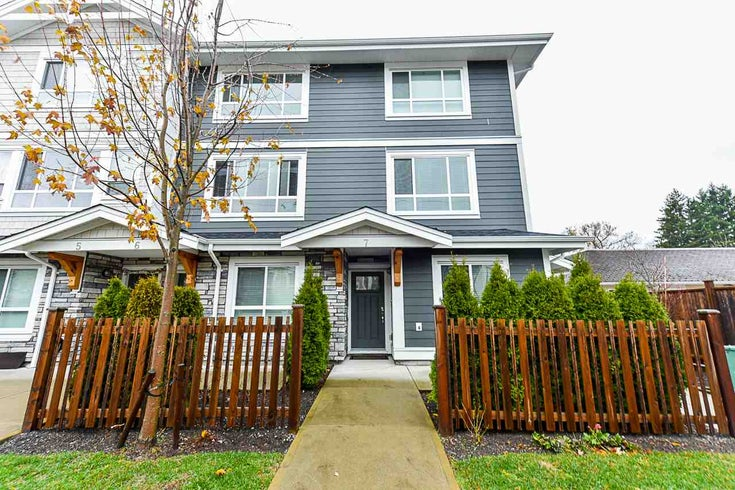7 19753 55A AVENUE - Langley City Townhouse for sale, 3 Bedrooms (R2563192)