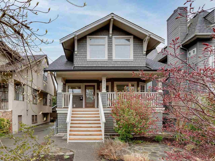 3215 W 6 AVENUE - Kitsilano House/Single Family for sale, 5 Bedrooms (R2563237)