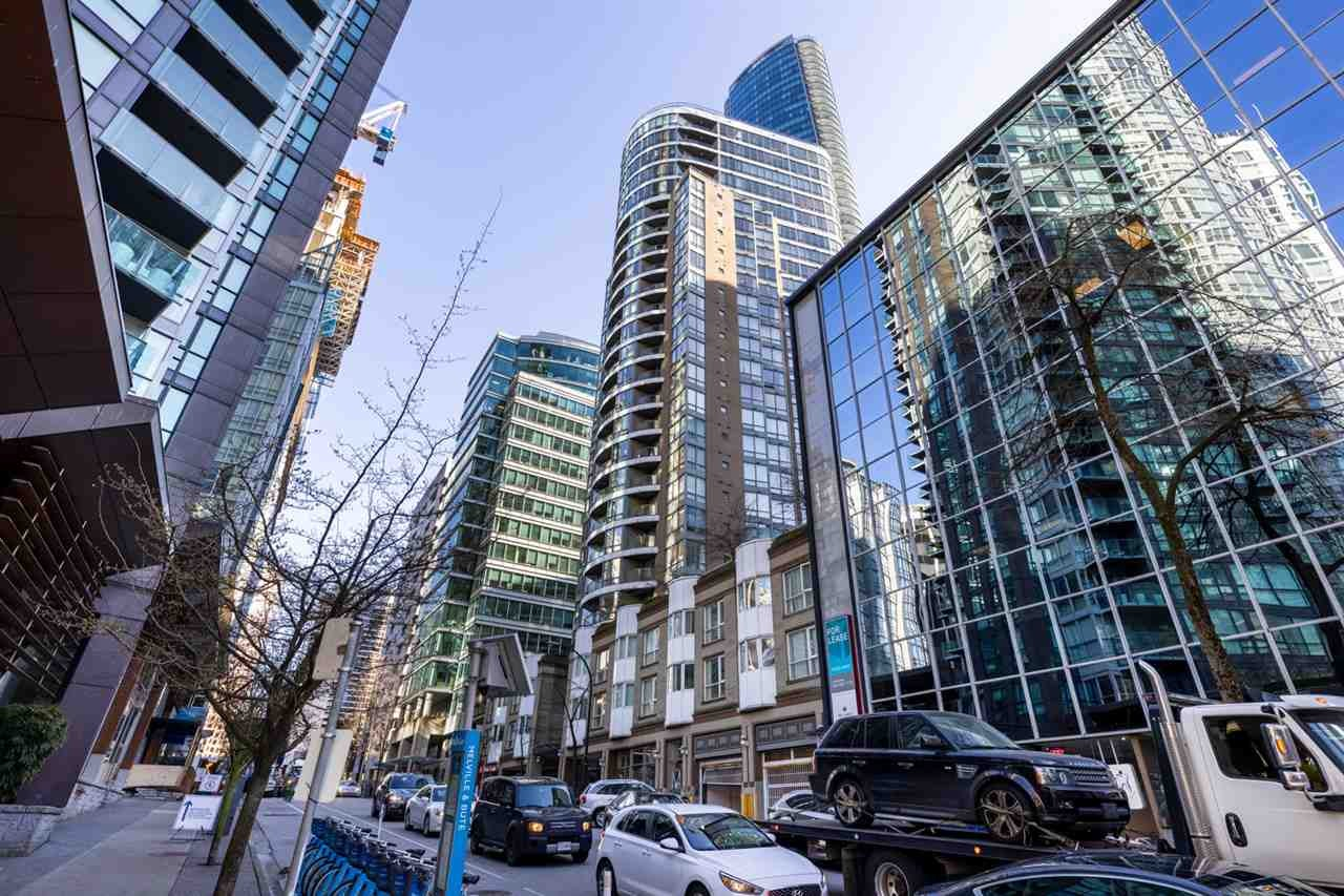 1602 1166 MELVILLE STREET - Coal Harbour Apartment/Condo for sale, 1 Bedroom (R2563371)