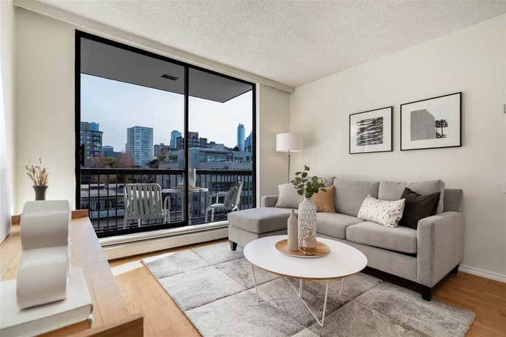 705 1146 HARWOOD STREET - West End VW Apartment/Condo for sale, 1 Bedroom (R2563566)