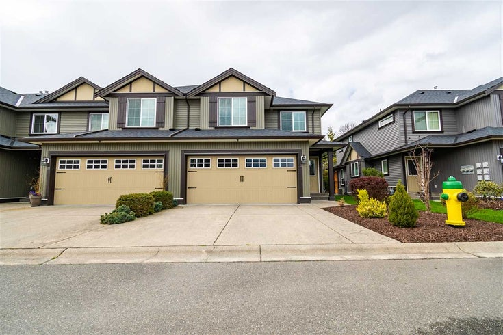 12 46225 RANCHERO DRIVE - Sardis East Vedder Rd Townhouse for sale, 3 Bedrooms (R2563574)