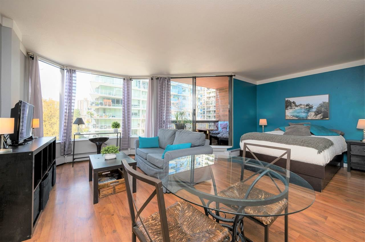 604 1330 BURRARD STREET - Downtown VW Apartment/Condo for sale, 1 Bedroom (R2563623)