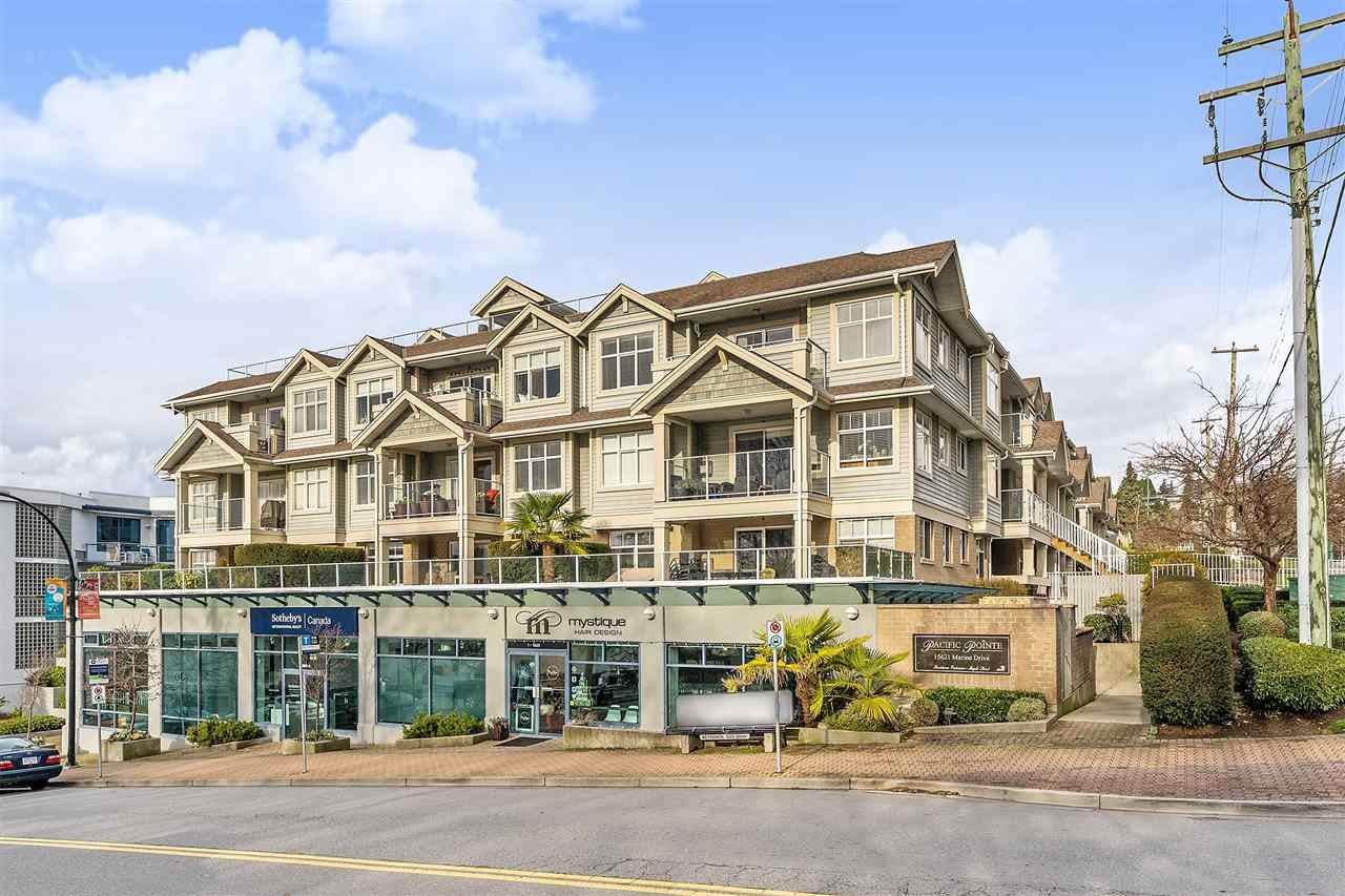 307 15621 MARINE DRIVE - White Rock Apartment/Condo for sale, 2 Bedrooms (R2563809) - #1