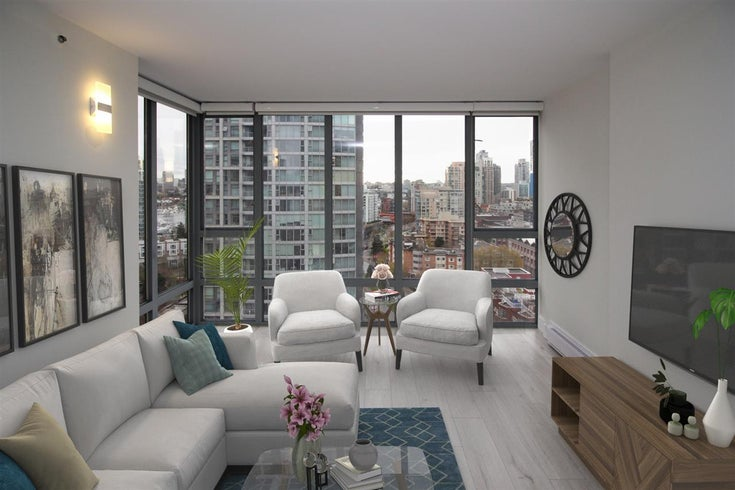 1603 950 CAMBIE STREET - Yaletown Apartment/Condo for sale, 3 Bedrooms (R2563970)