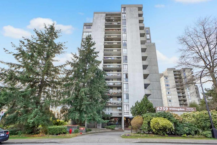 706 6759 WILLINGDON AVENUE - Metrotown Apartment/Condo for sale, 1 Bedroom (R2563993)