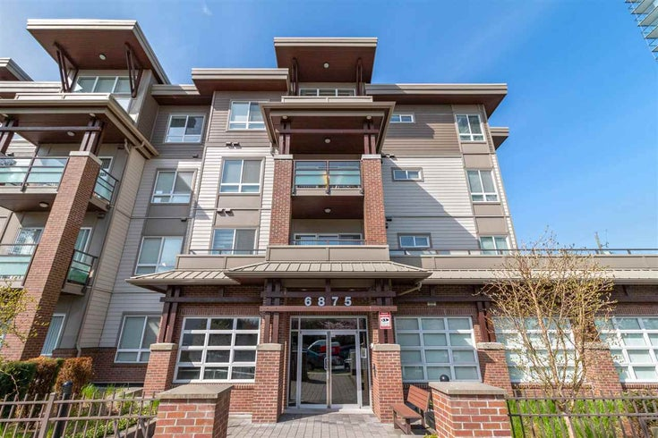 310 6875 DUNBLANE AVENUE - Metrotown Apartment/Condo for sale, 2 Bedrooms (R2564020)