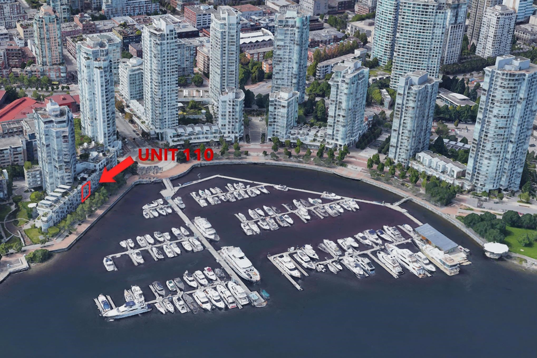 110 1228 MARINASIDE CRESCENT - Yaletown Townhouse for sale, 3 Bedrooms (R2564048) - #1