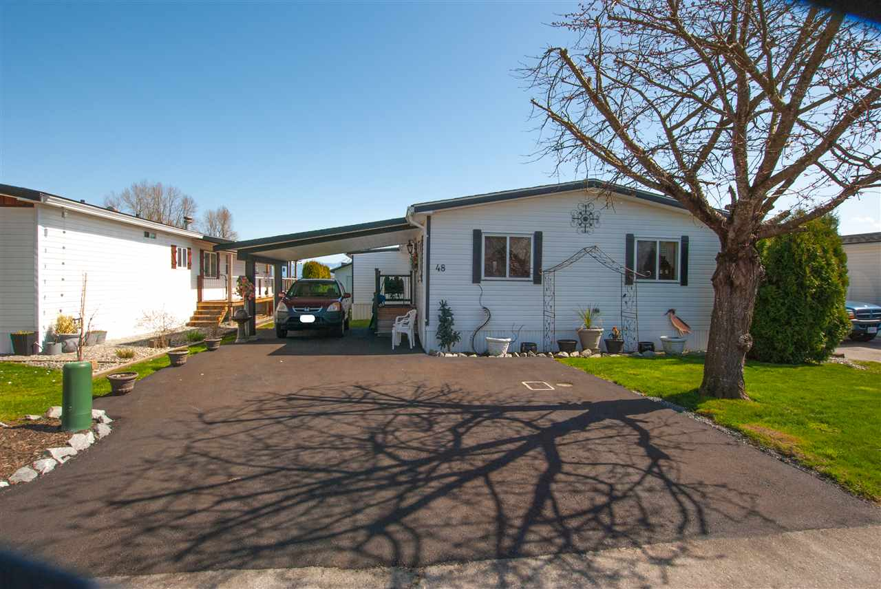 48 41168 LOUGHEED HIGHWAY - Mission BC Manufactured for sale, 2 Bedrooms (R2564059) - #1