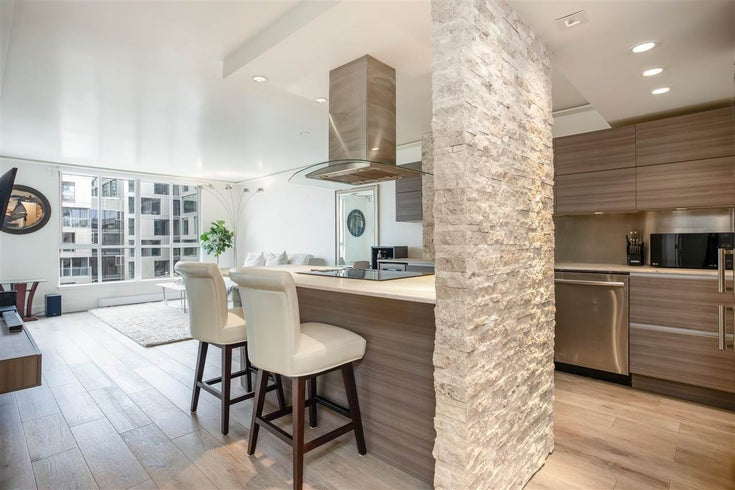 710 1500 HOWE STREET - Yaletown Apartment/Condo for sale, 1 Bedroom (R2564350)