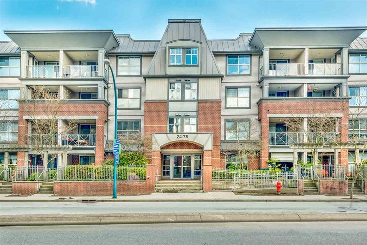401 2478 SHAUGHNESSY STREET - Central Pt Coquitlam Apartment/Condo for sale, 2 Bedrooms (R2564352)