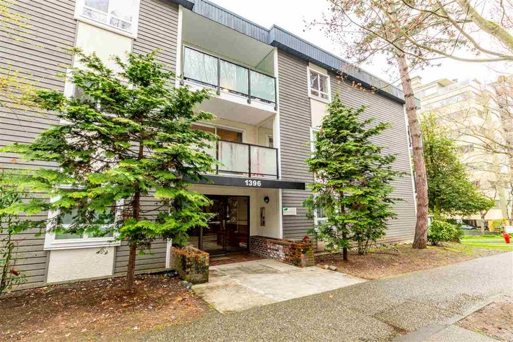 206 1396 BURNABY STREET - West End VW Apartment/Condo for sale, 1 Bedroom (R2564649)