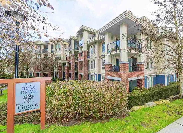 106 245 ROSS DRIVE - Fraserview NW Apartment/Condo for sale, 2 Bedrooms (R2564797)