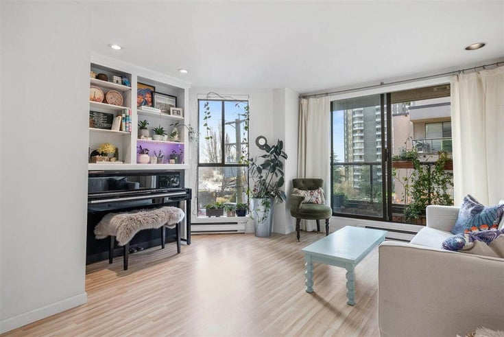 505 1040 PACIFIC STREET - West End VW Apartment/Condo for sale, 1 Bedroom (R2564823)