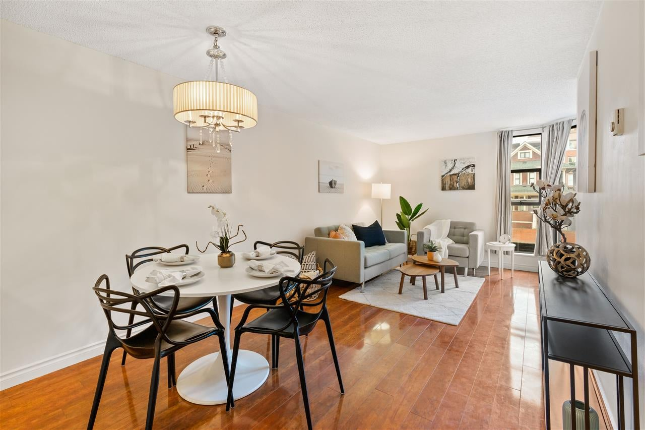 608 1040 PACIFIC STREET - West End VW Apartment/Condo for sale, 1 Bedroom (R2565070)