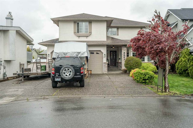 8867 WALTERS STREET - Chilliwack E Young-Yale House/Single Family for sale, 4 Bedrooms (R2565086)