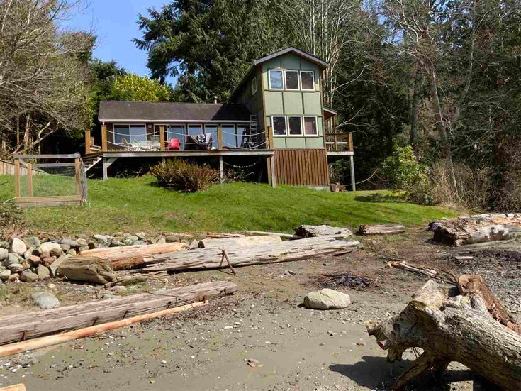 2349 NEW BRIGHTON ROAD - Gambier Island House/Single Family for sale, 2 Bedrooms (R2565286)
