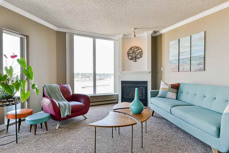 1506 1135 QUAYSIDE DRIVE - Quay Apartment/Condo for sale, 2 Bedrooms (R2565608)