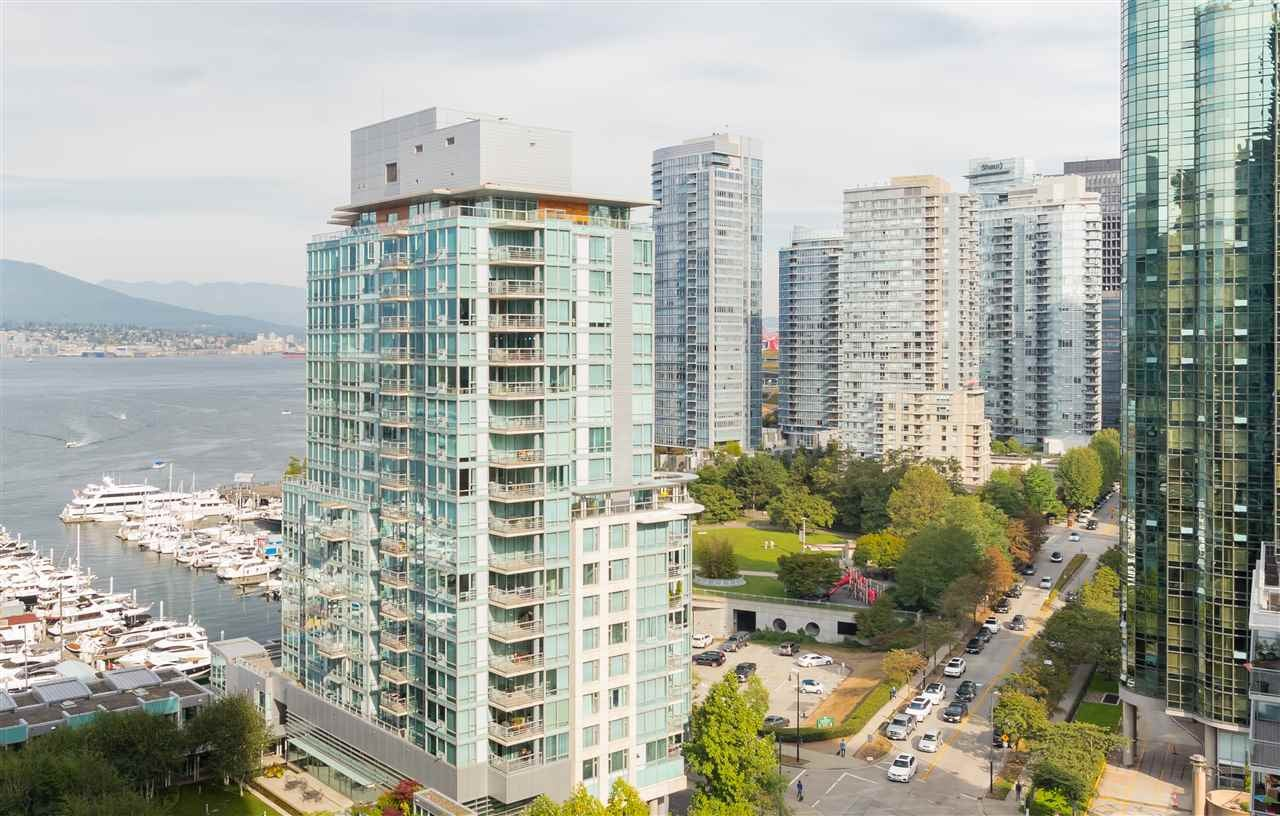 1402 1499 W PENDER STREET - Coal Harbour Apartment/Condo for sale, 2 Bedrooms (R2565853) - #1