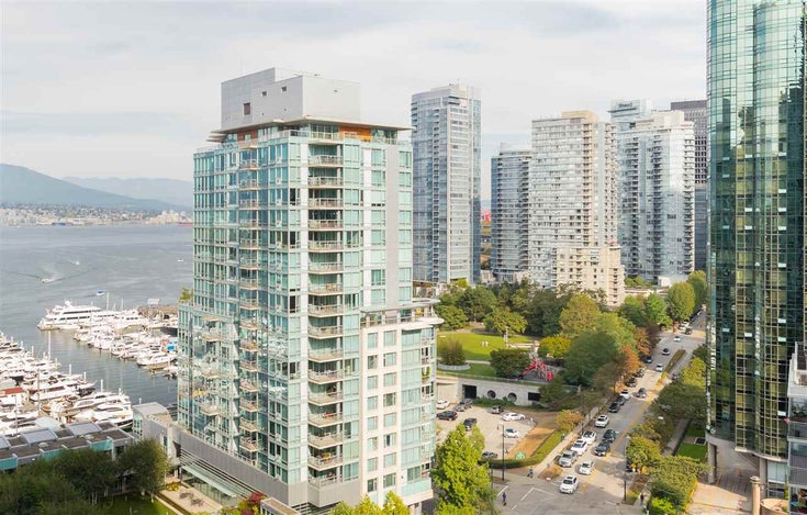 1402 1499 W PENDER STREET - Coal Harbour Apartment/Condo for sale, 2 Bedrooms (R2565853)
