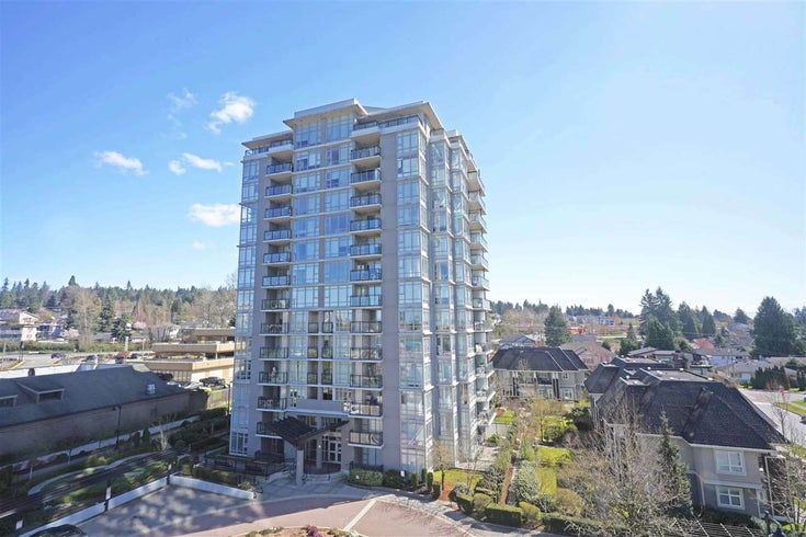 708 555 DELESTRE AVENUE - Coquitlam West Apartment/Condo for sale(R2565888)