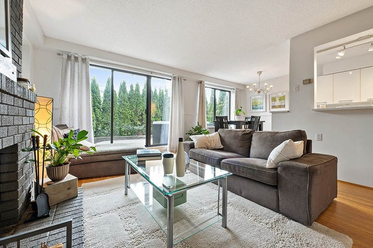 107 2450 CORNWALL AVENUE - Kitsilano Apartment/Condo for sale, 2 Bedrooms (R2566028)