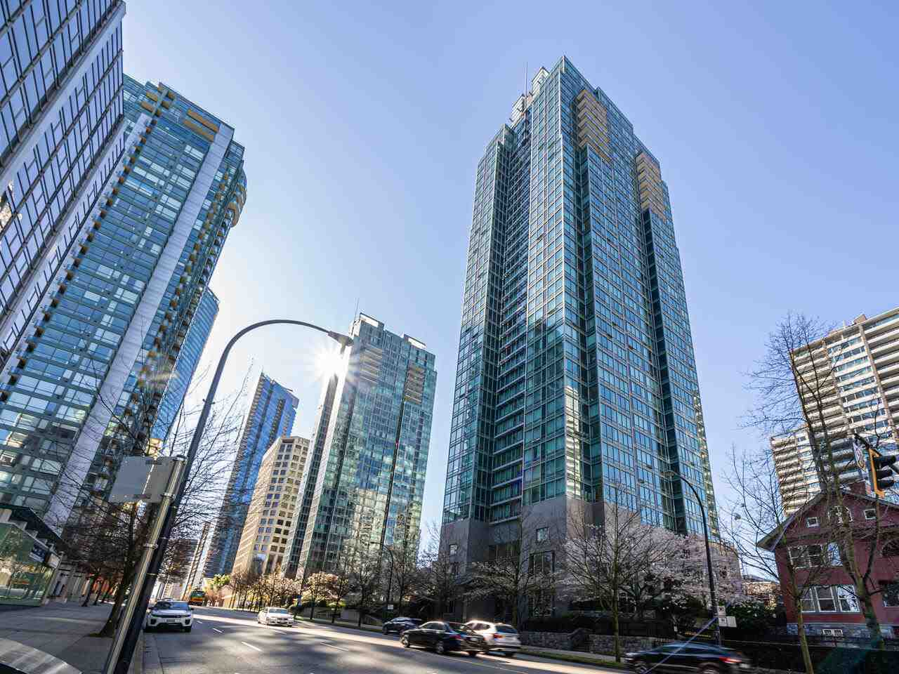 2407 1288 W GEORGIA STREET - West End VW Apartment/Condo for sale, 1 Bedroom (R2566054) - #1