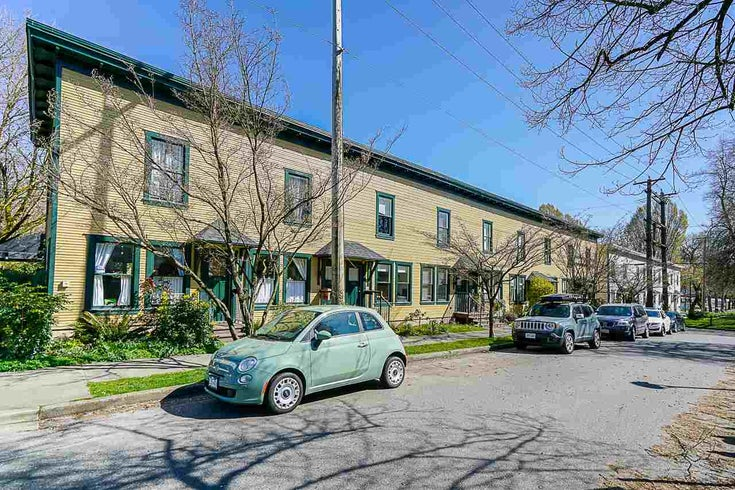 806 HAWKS AVENUE - Strathcona Townhouse for sale, 2 Bedrooms (R2566433)