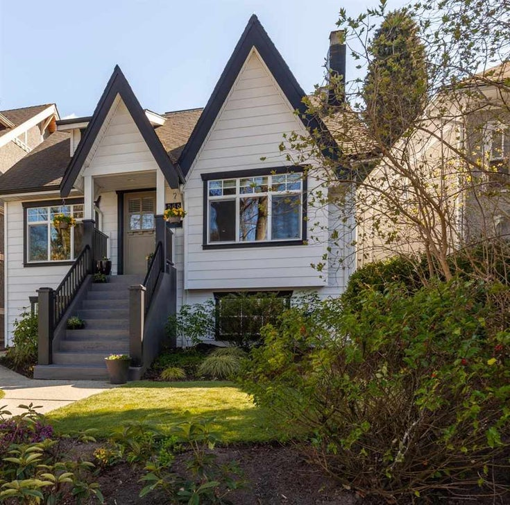 3566 W 13TH AVENUE - Kitsilano House/Single Family for sale, 4 Bedrooms (R2566482)