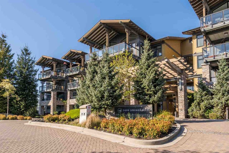206 5099 SPRINGS BOULEVARD - Tsawwassen North Apartment/Condo for sale, 2 Bedrooms (R2567002)