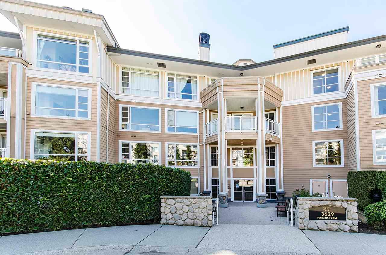 312 3629 DEERCREST DRIVE - Roche Point Apartment/Condo for sale, 1 Bedroom (R2567140)