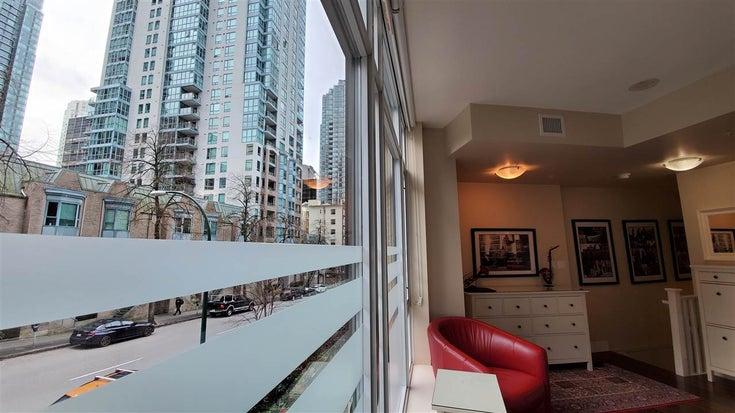 1215 MELVILLE STREET - Coal Harbour Townhouse for sale, 1 Bedroom (R2567257)