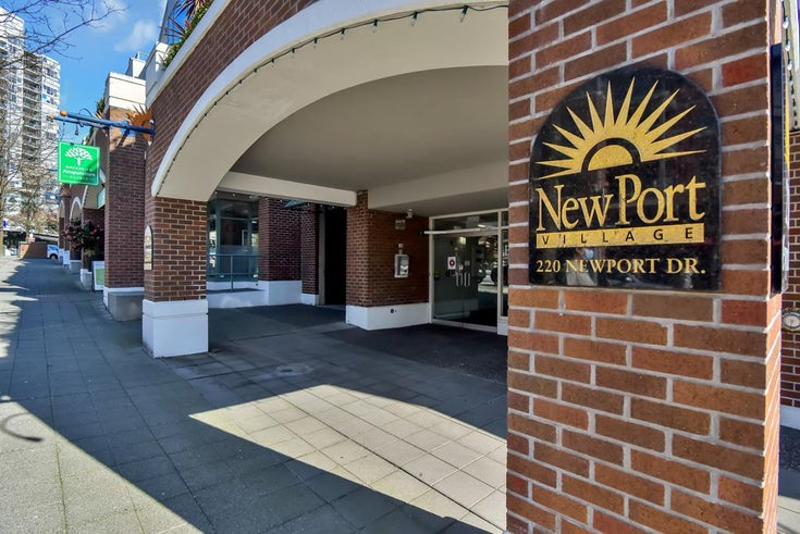 203 220 NEWPORT DRIVE - North Shore Pt Moody Apartment/Condo for sale, 2 Bedrooms (R2567385)