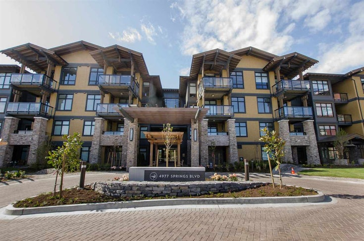 215 4977 SPRINGS BOULEVARD - Tsawwassen North Apartment/Condo for sale, 2 Bedrooms (R2567513)