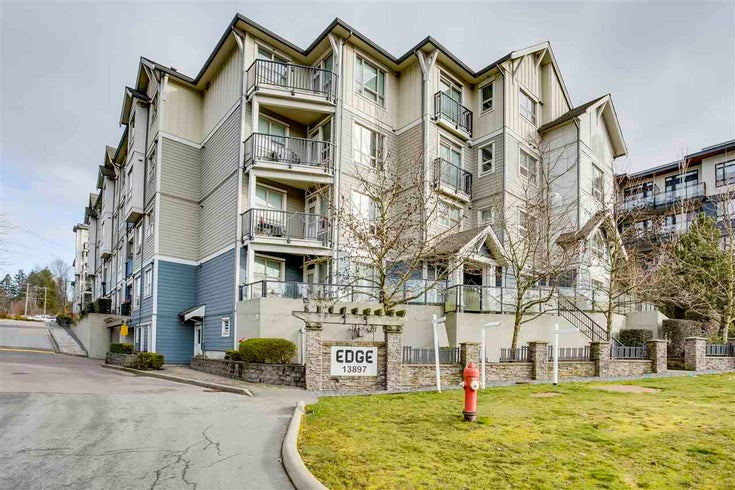 417 13897 FRASER HIGHWAY - Whalley Apartment/Condo for sale, 1 Bedroom (R2567594)