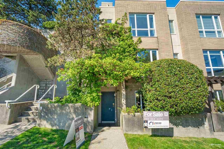 TH 1 2483 SCOTIA STREET - Mount Pleasant VE Townhouse for sale, 3 Bedrooms (R2567684)