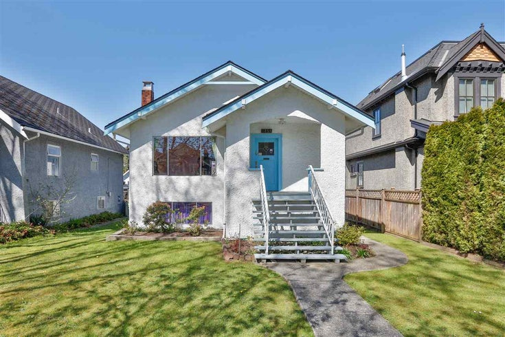 3255 W 13TH AVENUE - Kitsilano House/Single Family for sale, 2 Bedrooms (R2567851)