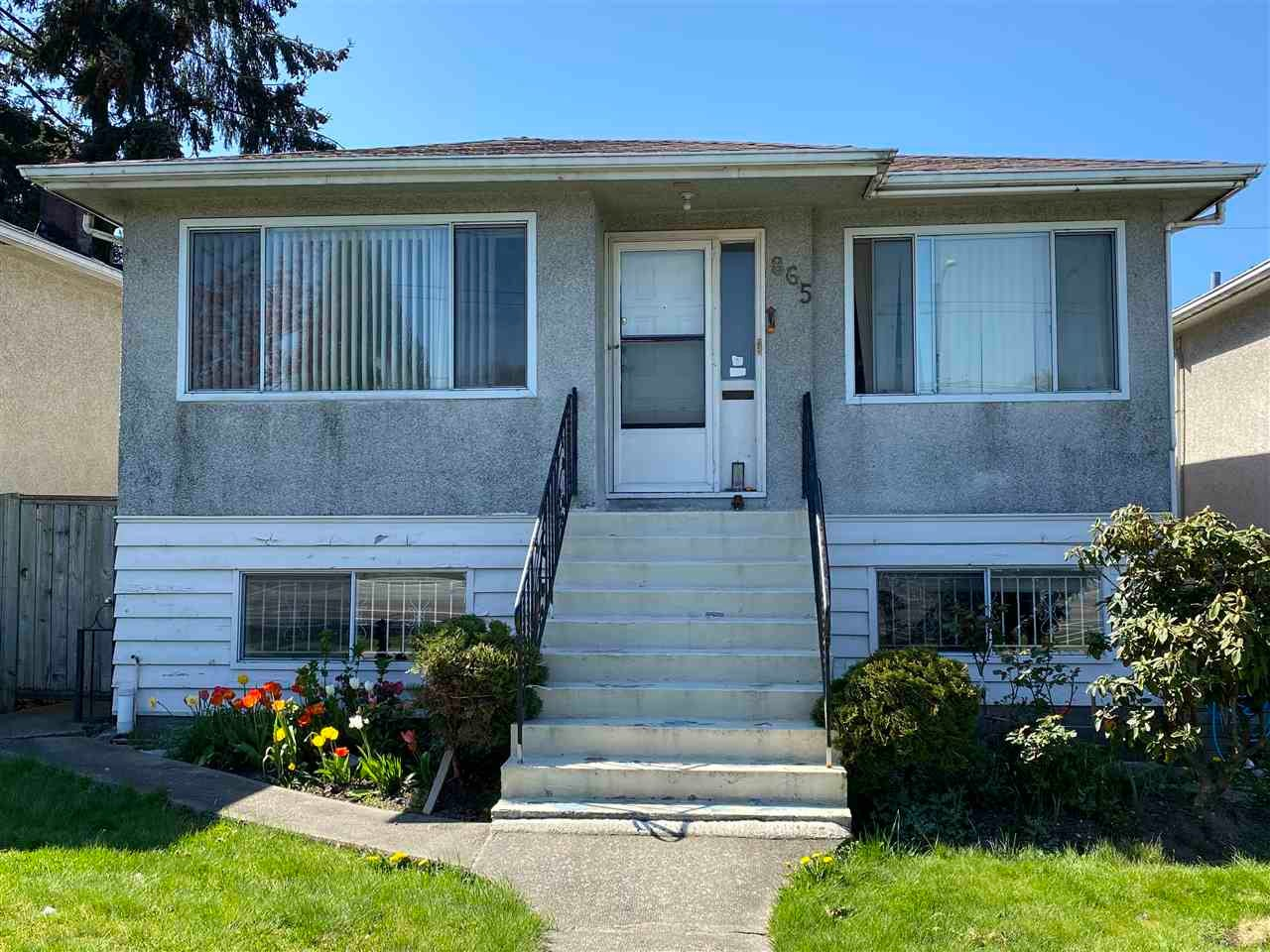 865 NANAIMO STREET - Hastings House/Single Family for sale, 6 Bedrooms (R2567936) - #1