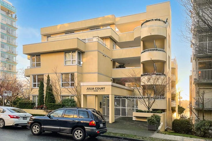 401 1406 HARWOOD STREET - West End VW Apartment/Condo for sale, 1 Bedroom (R2568055)
