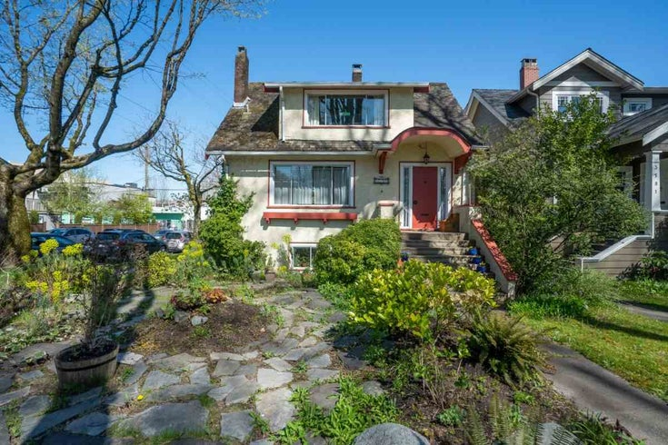 3591 W 10TH AVENUE - Kitsilano House/Single Family for sale, 5 Bedrooms (R2568191)
