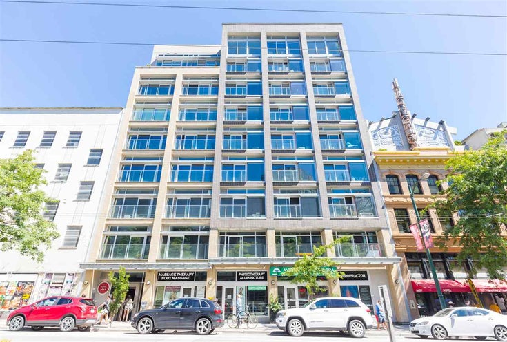 601 33 W PENDER STREET - Downtown VW Apartment/Condo for sale, 1 Bedroom (R2568537)