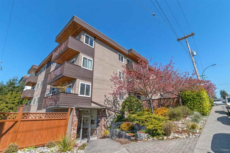 203 241 ST. ANDREWS AVENUE - Lower Lonsdale Apartment/Condo for sale, 1 Bedroom (R2568638)