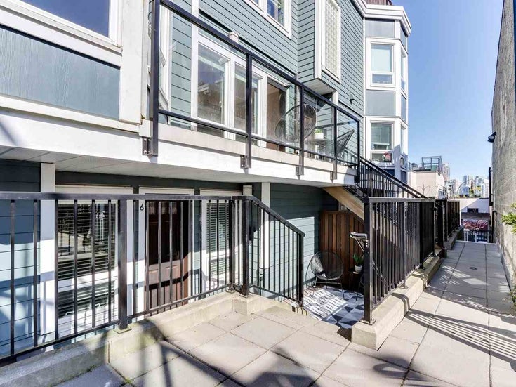 6 1081 W 8TH AVENUE - Fairview VW Townhouse for sale, 2 Bedrooms (R2568767)